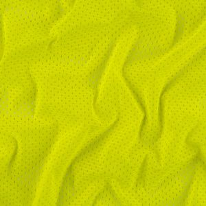 Heracles Safety Yellow Polyester Athletic Mesh