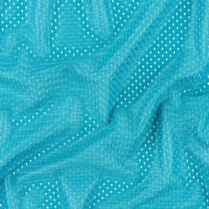 Heracles Turquoise Polyester Athletic Mesh