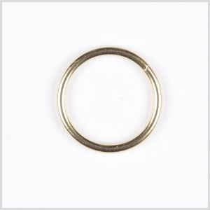 1 Gold Metal Ring Buckle