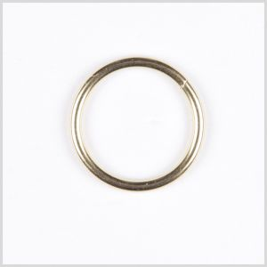 1.5 Gold Metal Ring Buckle