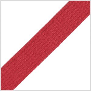 Red Cotton Webbing - 1