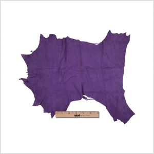 Small Imperial Palace Purple Goat Suede