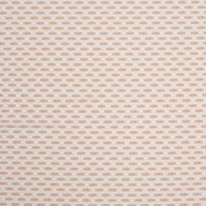 Beige on Ivory Polka Dotted Polyester Jacquard