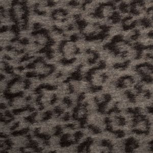 Famous Designer Black Coffee Abstract Wool Blend Novelty Knit