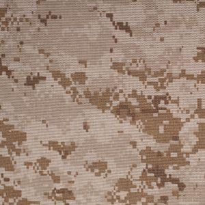 Tan/Brown Digital Camouflage Printed Polyester Canvas