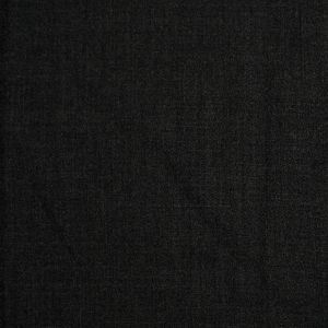 Charcoal Doubled-Faced Wool-Polyester Crepe