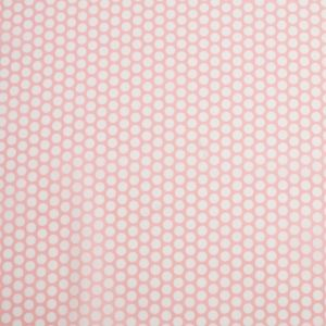 Candy Pink Polka Dotted Cotton Voile