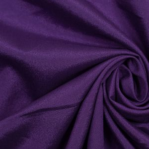 Purple Mechanical Stretch Polyester Crepe de Chine