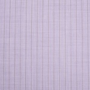 Italian Heather Purple Striped Stretch Polyester Suiting