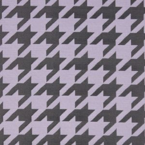 Lilac Houndstooth Polyester Brocade