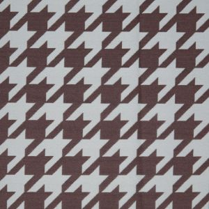 Mint Houndstooth Polyester Brocade