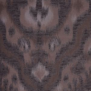 Espresso Ikat Damask Polyester Woven