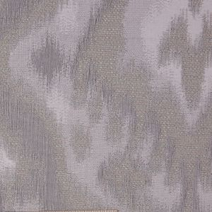 Taupe Ikat Damask Polyester Woven