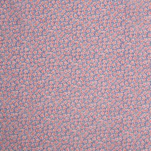 Liberty of London Speckle Red/Blue/Yellow Silk-Cotton Voile