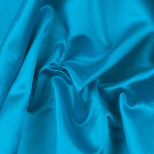 River Blue Blended Viscose Woven with a Satin Finish