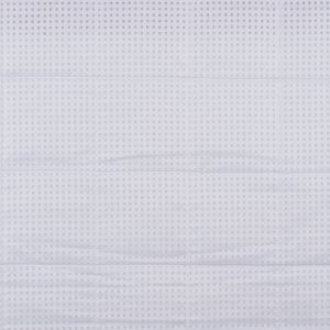 White Perforated Quilting