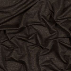 Dark Green Rayon and Linen Knit