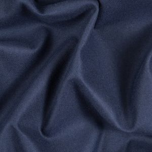Patroit Blue Cotton-Tencel Double Sided Brushed Flannel