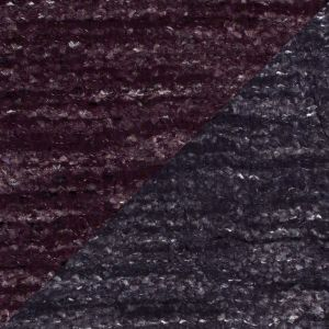 Wild Aster/Gothic Grape Double Faced Novelty Woven