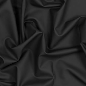 Black UV Protective Stretch Waterproof Tricot - Pleather
