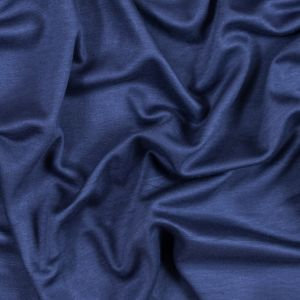 Italian Insignia Blue and Black Reversible Double Knit