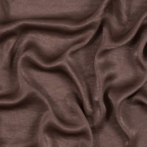 Italian Chocolate Chip Dyed Washed Polyester Dobby
