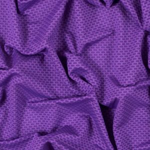 Lakers Purple Stretch Mesh with Wicking Capabilities