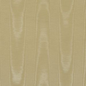 Straw Yellow Polyester Moire
