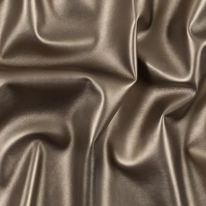 Metallic Gold Faux Leather with a Gray Faux Suede Backing