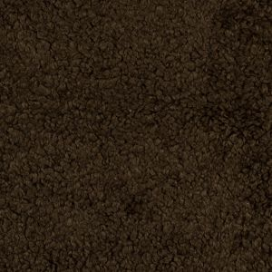 Beech Brown Faux Shearling Bonded with a Faux Suede Backing