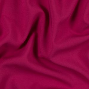 Lipstick Pink Double Faced Stretch Woven