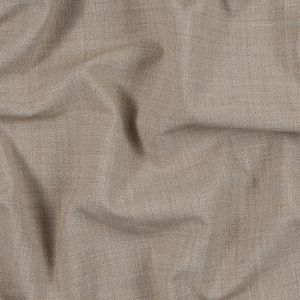Heathered Warm Sand Stretch Suiting