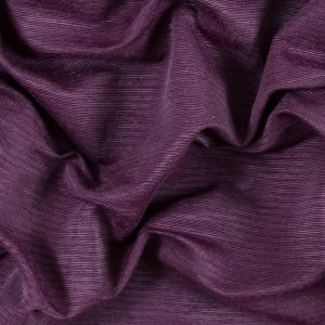 Shadow Purple Cotton and Polyester Ottoman