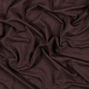 Brown Stretch Bamboo Jersey