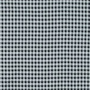 Black and White Double Faced Woven Cotton Blend