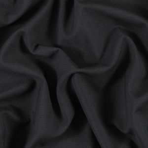 Black Cotton Crepe with Give