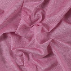 Italian Pink and White Sheer Pique Knit