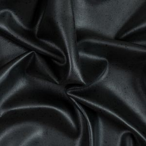 Black Wool Felted Coating with Speckled Laminate