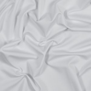 White Antibacterial and Wicking Polyester Jersey