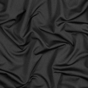 Black Antibacterial and Wicking Polyester Jersey