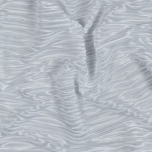 Italian White Pleated Polyester Woven