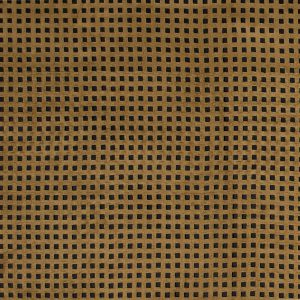 Italian Brown Square Perforated Faux Suede