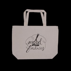 Mood Canvas Tote Bag with Shears