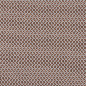 Italian Gray and Brown Floral Digitally Printed Stretch Polyester