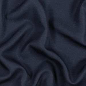 Navy Silk Woven Suiting