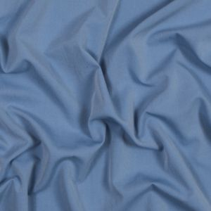 Blue Speckled Polyester Shirting with Give