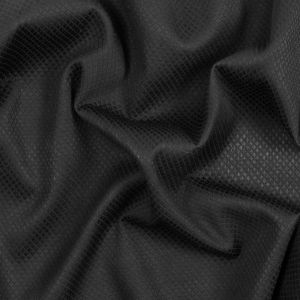 Black Quilted Cotton Woven