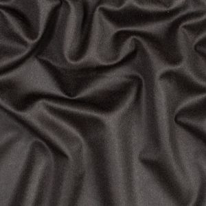 Dark Brown Wool and Cashmere Coating