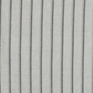 Beige and Cool Gray Shadow Striped Linen Twill