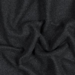 Light and Dark Gray Wool Double Cloth